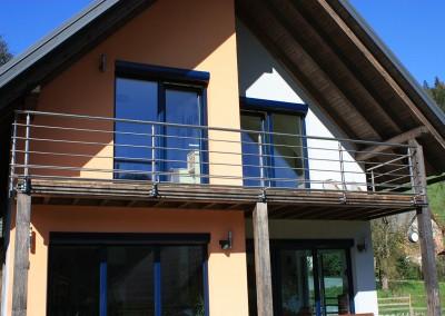 INOX dekorativna balkonska ograja go tehnika