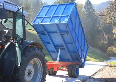 kiper prikolica za traktor nadgradnja go tehnika