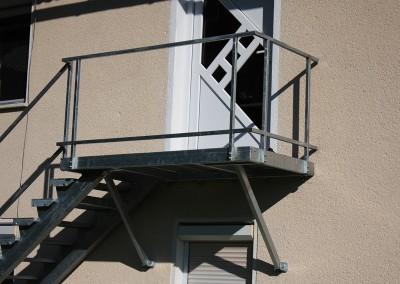 kovinske stopnice go tehnika